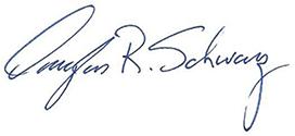 Doug Schwarz Signature